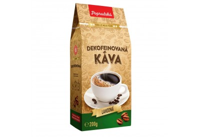 Dekofeinovaná káva mletá