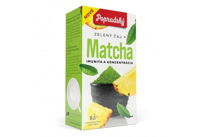 Matcha - imunita a koncentrace