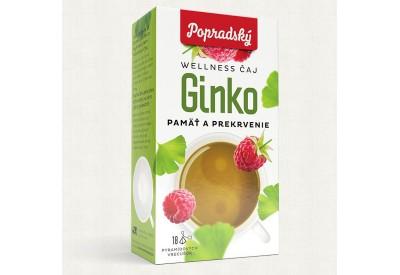 Gingko - paměť a prokrvení